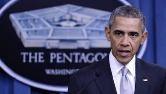 US-Präsident Barack Obama im Pentagon.