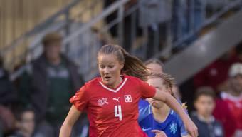 Auch Malin Gut steht dem Schweizer Nationalteam im Playoff-Hinspiel gegen die Niederlande nicht zur Verfügung