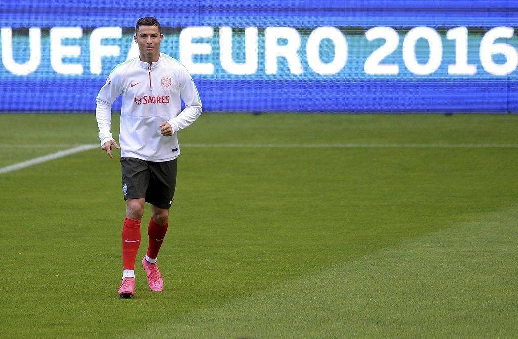 Cristiano Ronaldo in Bildern (© Keystone)