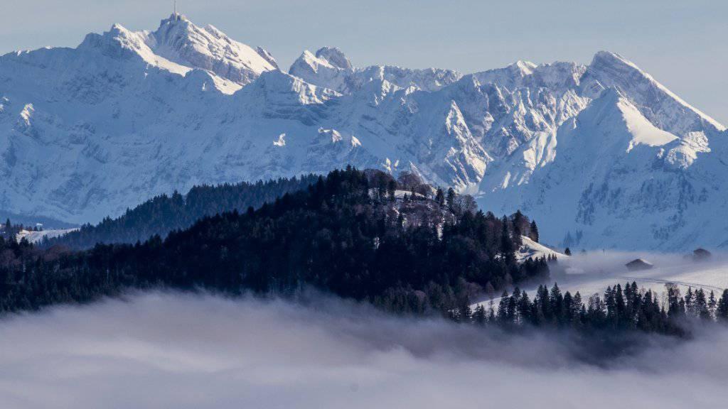 In den Schweizer Alpen fielen lokal bis am Donnerstag stellenweise 50 Zentimeter Neuschnee - auf dem Messfeld des Säntis ist die Schneedecke bereits 3 Meter und 75 Zentimeter dick. (Archivbild).