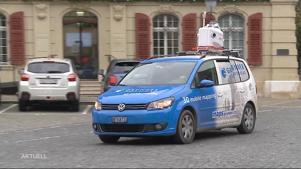 Stadt Zofingen setzt auf Hightech-Fahrzeug bei Strassen-Schäden