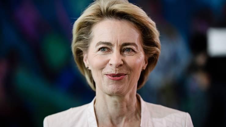 Designierte Chefin der EU-Kommission: Ursula von der Leyen