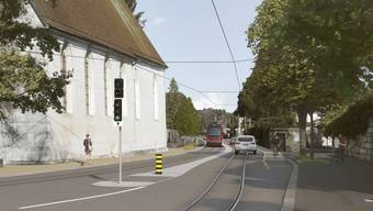 Umgestaltung der Baselstrasse in Solothurn fürs Bipperlisi
