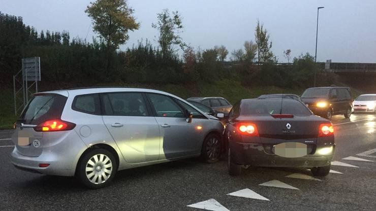 An den Autos entstand ein Sachschaden von 16'500 Franken.