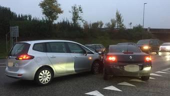 Frontalkollision in Kölliken