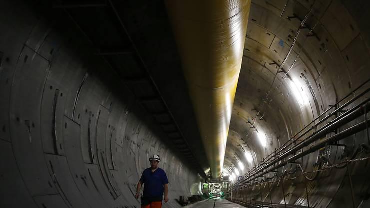 Die Bauarbeiten haben bereits begonnen: Zwischen Turin in Italien und Lyon in Frankreich ist eine neue Hochgeschwindigkeits-Zugstrecke geplant. (Archivbild)