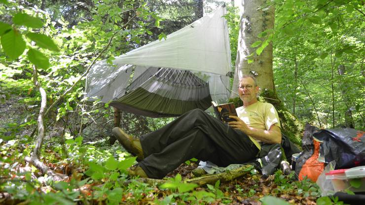Am Sembach in der Gemeinde Auw ist gut sein, zumal das Wetter jetzt angenehmer ist. Einzig die Mücken sind aggressiv.