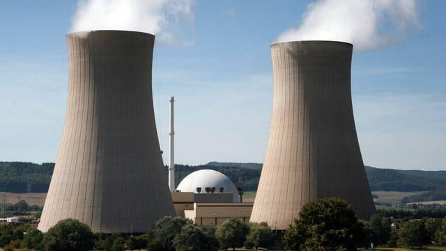 Das Kernkraftwerk im niedersächsischen Grohnde an der Weser (Archiv)