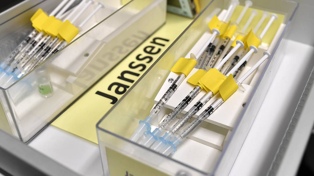 Warten auf Abnehmer in der Schweiz: der Impfstoff Covid-19 Vaccine Janssen von Johnson&Johnson.
