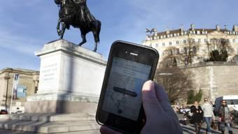 Der Kanton Genf verbietet den Uber-Fahrdienst (Archiv)