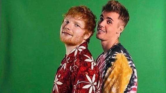 Justin Bieber & Ed Sheeran