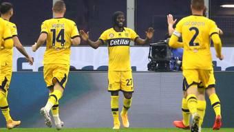 Gervinho bringt Parma im San Siro einen Punkt