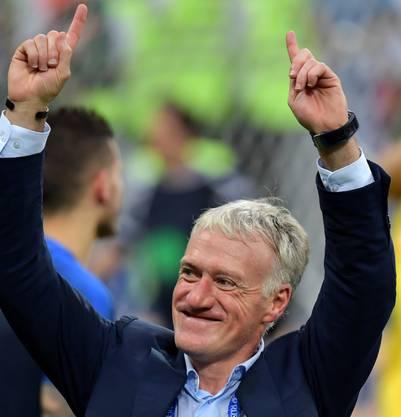 Didier Deschamps ist der Baumeister des französischen WM-Erfolgs.