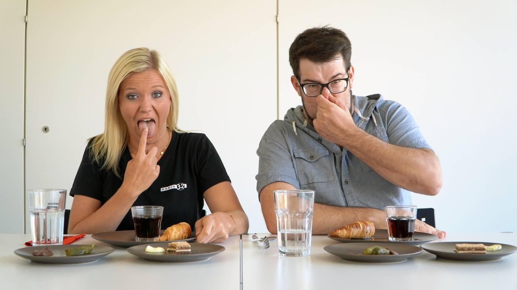Jasmin und Marco testen kuriose Essenskombinationen
