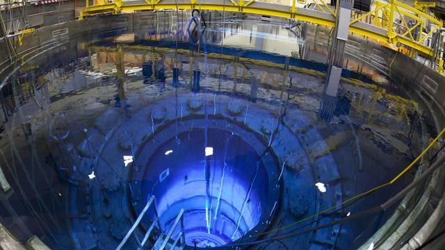 Blick in den Reaktordruckbehälter des AKW Mühleberg (Archiv)