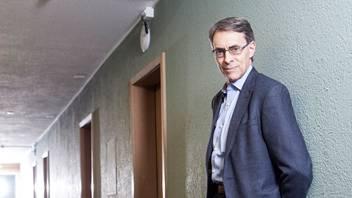 Kenneth Roth, ein Tag vor dem WEF in einem Zweisterne-Hotel in Davos, wo er logiert.