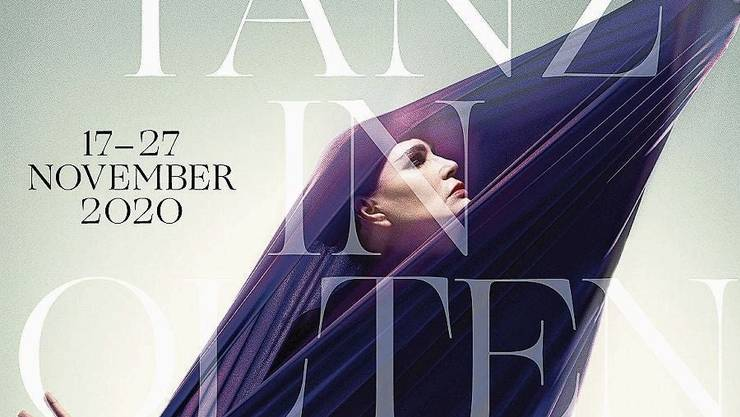 Das Foto fürs Plakat für die Jubiläumsausgabe der Oltner Tanztage stammt von Marco Grob, die Gestaltung von Charles Blunier.