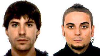Polizeibild der Festgenommenen