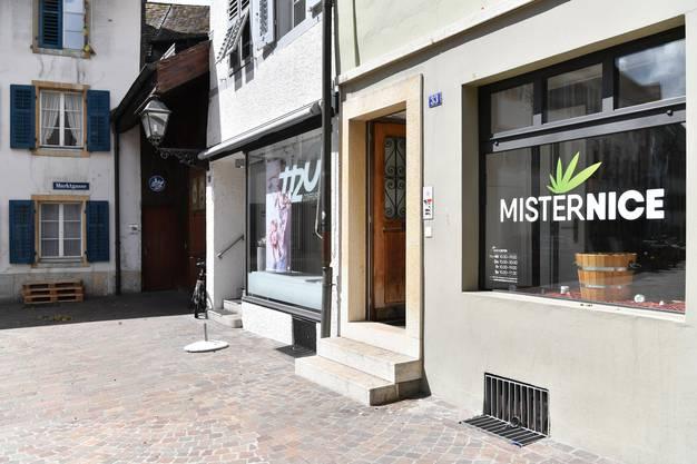 Handladen MisterNice an der Marktgasse 33