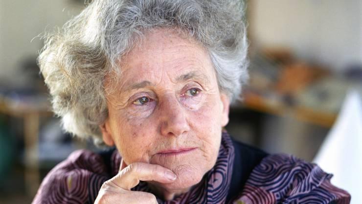 """Erica Pedretti ist einst aus der Tschechoslowakei in die Schweiz emigiriert. Wohl vor diesem Hintergrund sagt sie, Heimat sei etwas, """"das es nicht gibt"""". Die Literatin und Künstlerin wird heute 90 Jahre alt."""