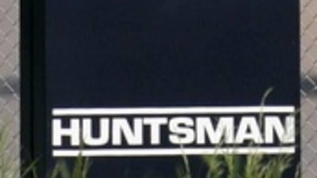 Logo von Huntsman: Der US-Konzern baut in der Schweiz Stellen ab (Archiv)
