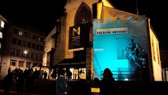Das Historische Museum an eine Museumsnacht.