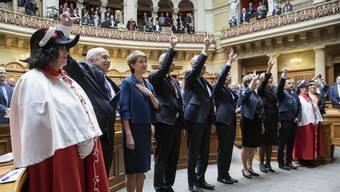 Bilder einer Bundesratswahl: Die Gesamterneuerung 2019