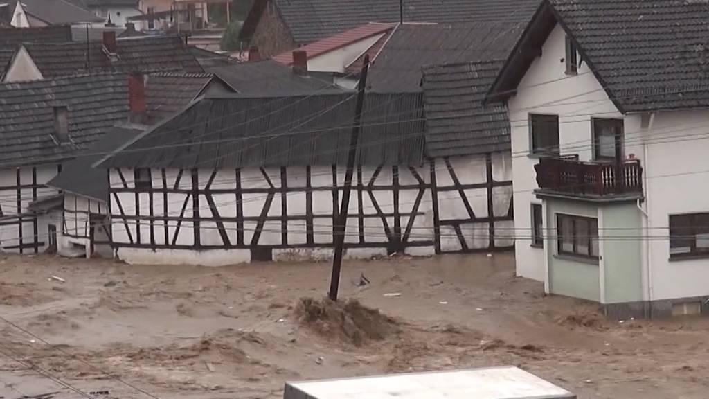 Hochwasser-Katastrophe in Deutschland: Dutzende Menschen kommen ums Leben