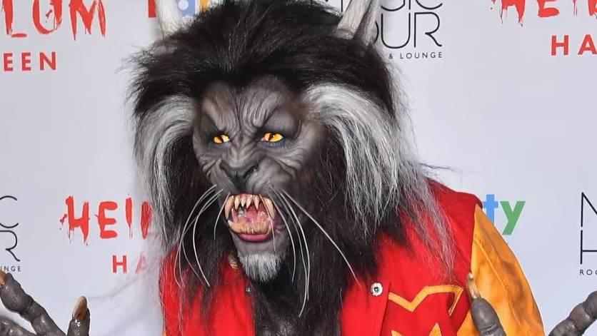 Heidi Klum in den Halloween-Vorbereitungen