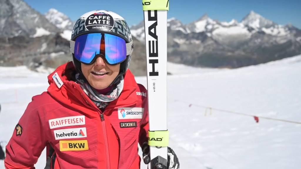 Wendy Holdener und Co. trainieren in der Schweiz