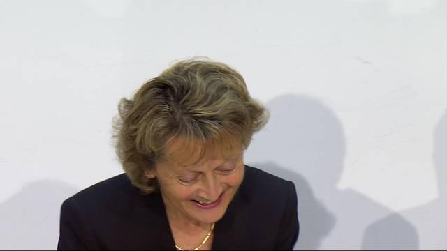 «Sie konzentrieren sich auf die Kleidung oder die Frisur»: Eveline Widmer-Schlumpf rechnet mit den Journalisten ab.