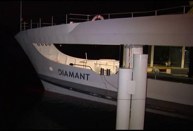 163 Passagiere waren am Bord - verletzt wurde niemand.