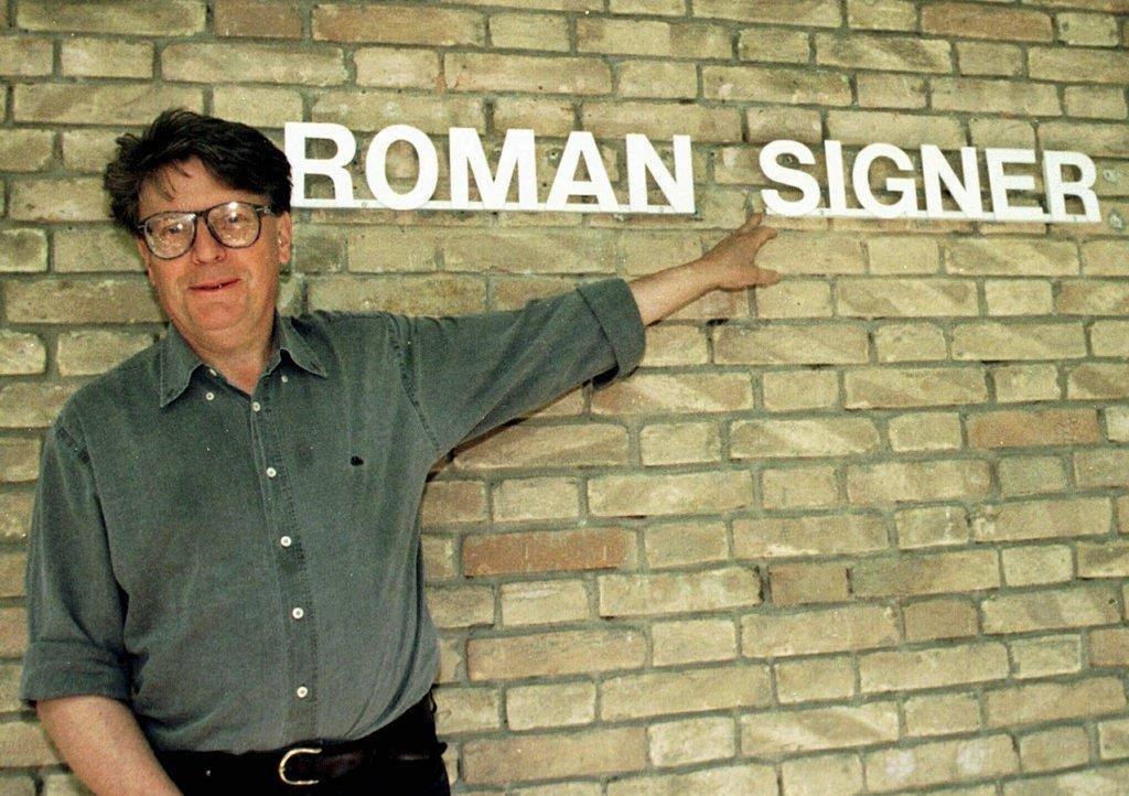 Ostschweizer Künstler Roman Signer