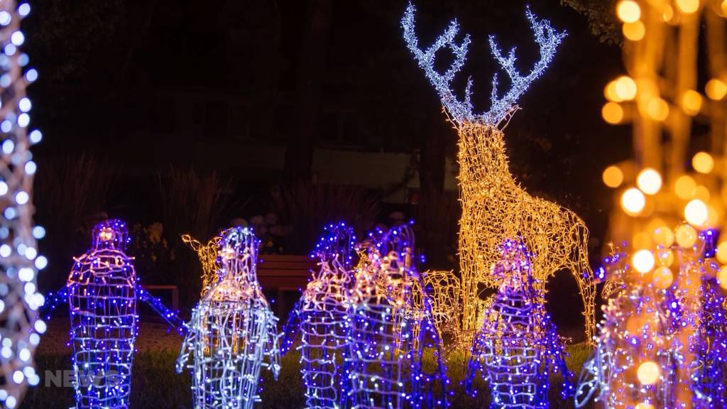 Winter Wonderland auf dem Gurten: Das grösste Lichterspektakel der Schweiz feiert Premiere