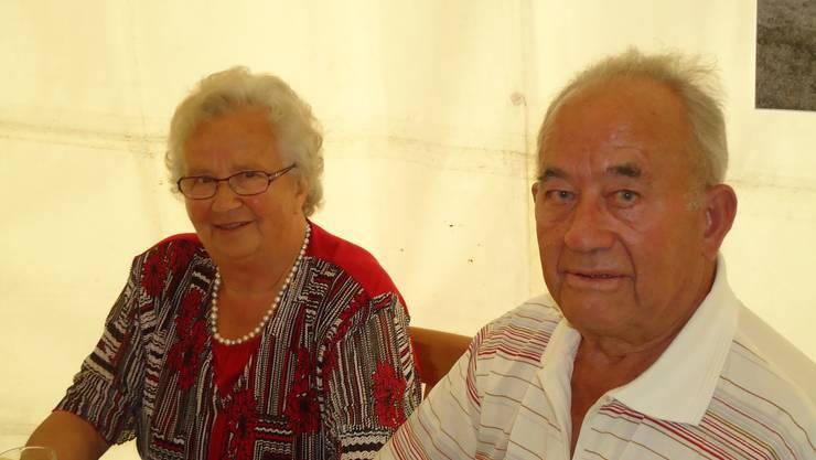 Am 24. Mai vor 65 Jahren heirateten  Marie und Fritz Kleeb vom Cheisacher.  Wir gratulieren Euch ganz herzlich zu Eurem besonderen Festtag und wünschen Euch alles Gute. Eure Familie