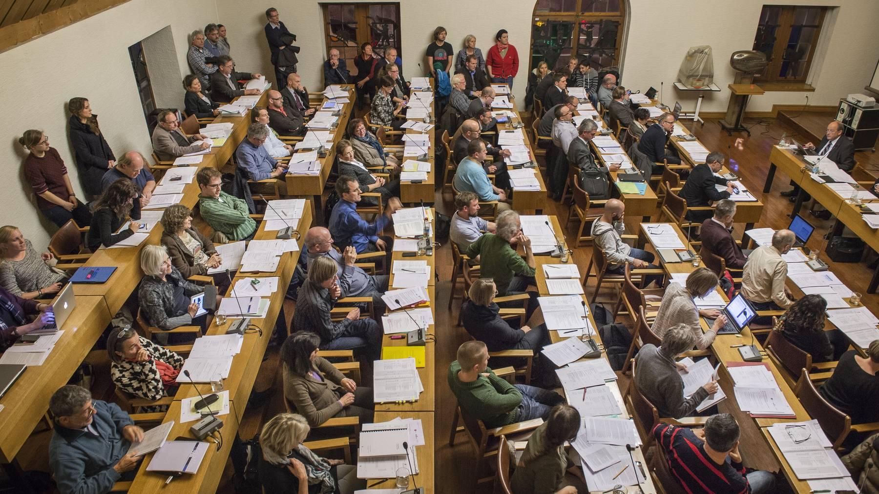 Das St.Galler Stadtparlament stimmte einer Steuersenkung zu.  (Archiv)