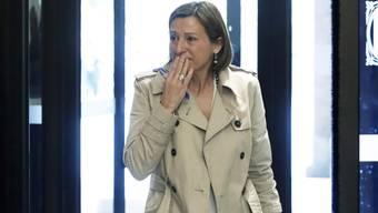 Das Oberste Gericht in Spanien hat U-Haft gegen die katalanische Parlamentspräsidentin Carme Forcadell angeordnet. (Archiv)