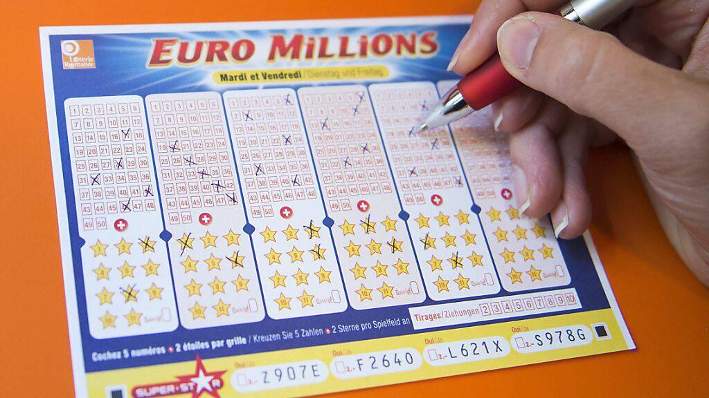 Franzose darf sich auf Rekord-Jackpot von 220 Millionen Euro freuen