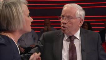 «Die Masseneinwanderungsinitiative war ein Betriebsunfall der SVP.» Elisabeth Schneider-Schneiter weist Christoph Blocher in die Schranken.
