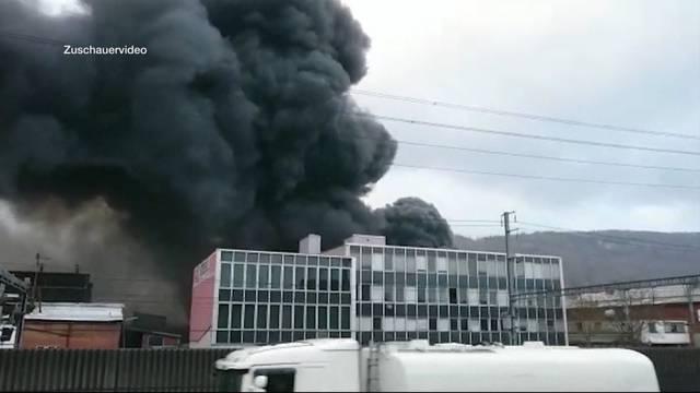 3,6 Mio. Franken Brandschaden in Rothrist