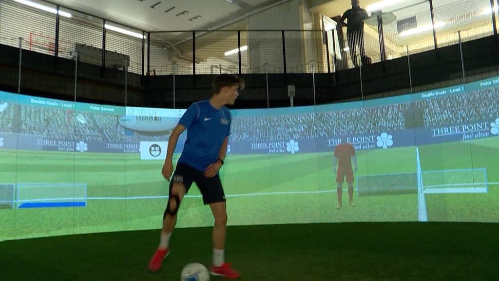 FCZ trainiert mit Soccerbot