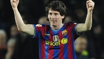 Lionel Messi schoss Valencia im praktisch im Alleingang ab