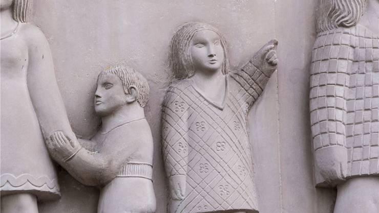 Bisher geben Jugendliche nur auf der Fassade des Gemeindehauses Riehen die Richtung vor.