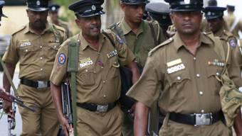 Rückgeschaffte verhaftet: Polizei in Sri Lanka (Symbolbild)