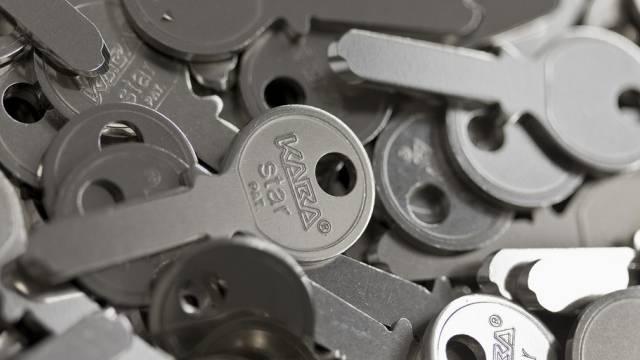 Im Kanton Zürich produzierte Schlüssel von Kaba (Archiv)