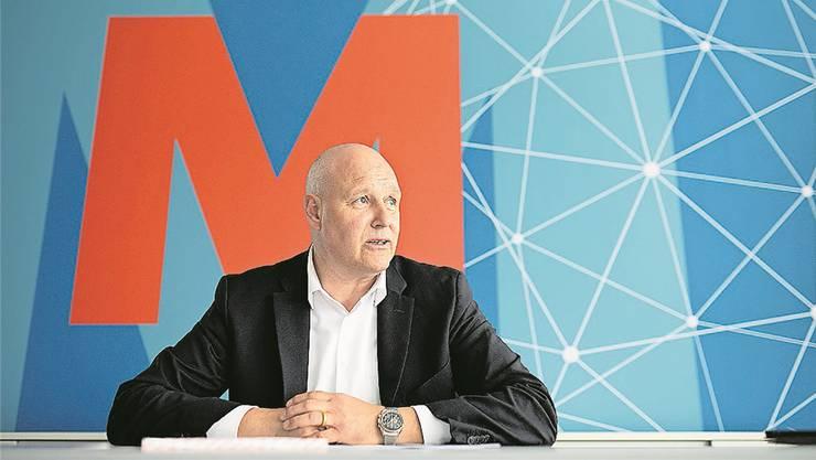 Anton Gäumann ist der Chef der Migros Aare. (Archivbild: Tom Ulrich)