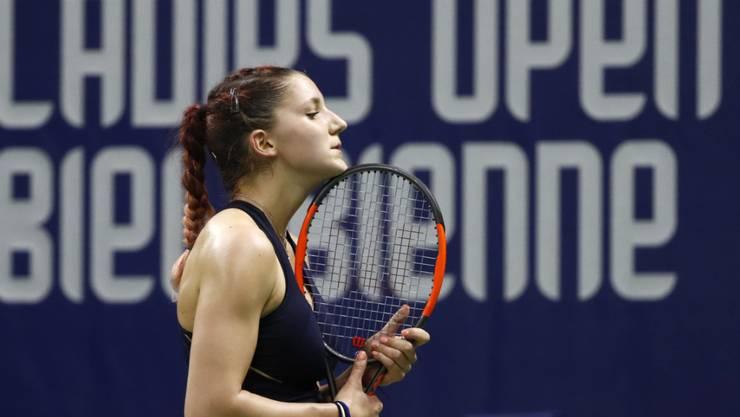 Rebeka Masarova hintersinnte sich zuweilen gegen Annika Beck