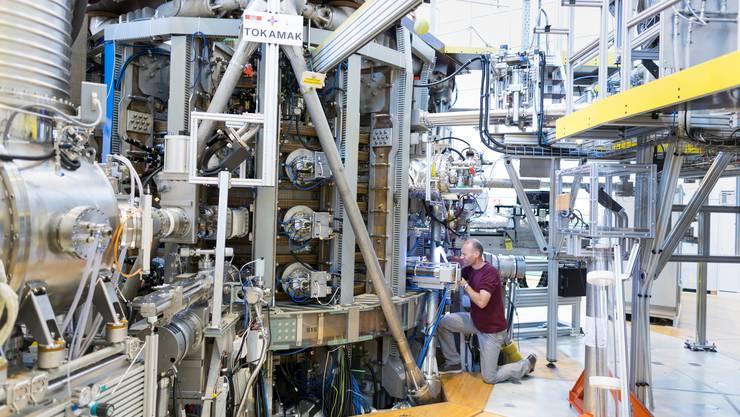 Im Rahmen der Forschungsprogramme wird unter anderem an der Kernfusion geforscht.