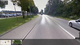 Hier endet der virtuelle Spaziergang in der Aarauer Telli: 1300 Einrichtungen im Aargau gelten als heikel, weshalb Google Street View keine Aufnahmen zeigt, die in der Nähe entstanden sind.