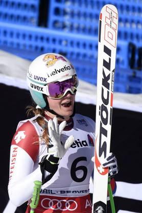 Nadja Jnglin-Kamer fuhr stark und schaffte es auf den 7. Platz.